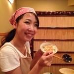 紫陽花 - 鱧の卵で玉子かけご飯~♪[撮影許諾済み]