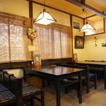北山 - テーブル席×3