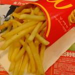 マクドナルド - マックフライドポテト(L):期間限定150円 税込