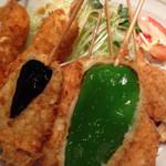 串とも - 野菜ランチ700円