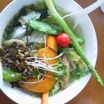 たんぽぽハウス - 野菜塩ラーメン