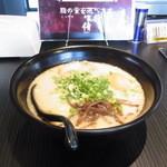 らうめん侍 - 和風とんこつ煮玉子らうめん750円