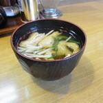 きっちん モト - お味噌汁
