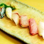 つばさ寿司本店 - 白身づくし②(写真1枚におさめるの難しい)