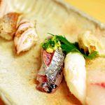 つばさ寿司本店 - 白身づくし③(写真1枚におさめるの難しい)