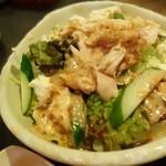 29626362 - 鳥と島豆腐のサラダ