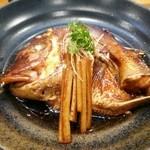 ひょうたん寿し - 鯛のあら煮