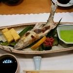 ひょうたん寿し - 鮎の塩焼き