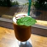 カピアンコーヒー - ☆ アイスカフェモカ ¥530 …  2014年7月26日 再訪
