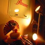 サザンクロス&アモーレ - これはバーのほうでした。この奥にフレンチのお店があります。