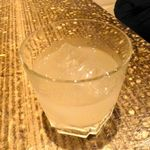 千串屋 - 贅沢ゆず酒(580円)