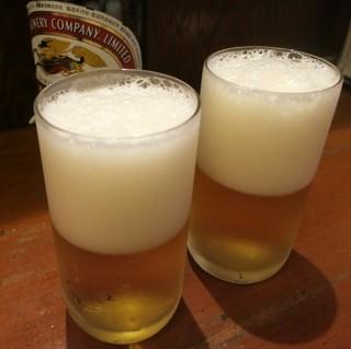 大衆居酒屋 末廣屋 - 瓶ビールはキリンのみです。