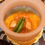 トゥ・ラ・ジョア - 海老の一皿 (2014/08)