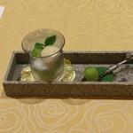 トゥ・ラ・ジョア - シャインマスカットの水饅頭 (2014/08)