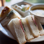 和蔵珈琲店 - 和蔵珈琲店 サンドイッチ