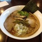 麺ゃ しき - しき麺(700円)+大盛り(100円)