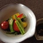 食楽工房 キッチン・ふぁーむ - 野菜のおかずプレートランチの温野菜