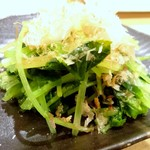 ゑびす - 水菜お浸し