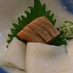 ホテル十和田荘 - 夕食の刺身