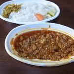 モリ商店 - 鶏挽肉とレンコンのカレー 大盛900円テイクアウト