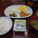 船頭殿 - 料理写真:夏の日の朝食