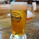 三楽 - ドリンク写真:オリオンビール
