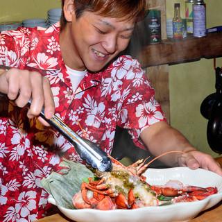 ニヤけるぐらい美味しそう♪看板料理のオマール海老を是非☆