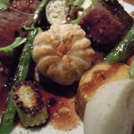 黒鉄 - シャトーブリアンの付属の野菜