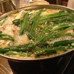 俺のもつ鍋とハンバーグの店 キセキ - モツ鍋( ´ ▽ ` )ノ