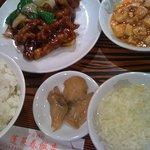 2964319 - 黒酢酢豚定食