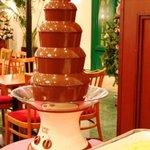 ラ メゾネ - 11:00~チョコレートファウンテン・バイキング ランチに+200円