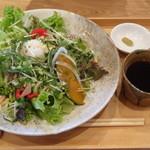 なんてんcafe - 五穀麺