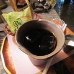 コパ デ カフェ - ダッチコーヒー・白神ラスクつき