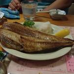 やまどり - ほっけ 大きくて新鮮。北海道直送に間違いない。