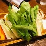 29645383 - 水炊きの野菜