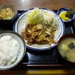 ぼん亭 - しょうが焼き定食