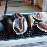 海山荘 - 料理写真:残酷焼きですね。