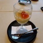 茶寮 やすの - 昼会席7品目(水菓子)
