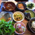 つくば食堂 花 - ランチ¥1,100