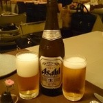 インド料理 想いの木 - 瓶ビール(760円)