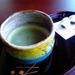 29648288 - 抹茶と生菓子 入園料込みで1000円