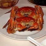 王宝和大酒店 宝和厅 - 美味しく茹で上がった上海蟹今回は雄・雌両方