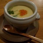 29649124 - 【再訪H26.7】 茶碗蒸しはちょっとしょっぱい。