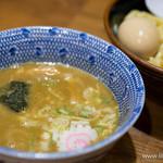 六厘舎 - 味玉つけ麺【2014年6月】