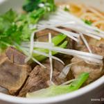 刀削麺・火鍋・西安料理 XI'AN - スペアリブのせ刀削麺(小)【2014年6月】