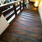 日田まぶし千屋 - 階段はけっこう急です