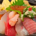 すしざんまい - 上ちらし丼【2014年7月】