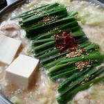 29651061 - もつ鍋(味噌味)