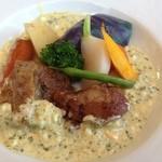 ビストロ ラ ブリーズ - 豚ほほ肉の煮込み グリビッシュソース