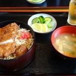 盛柳軒 - ソースカツ丼(860円)